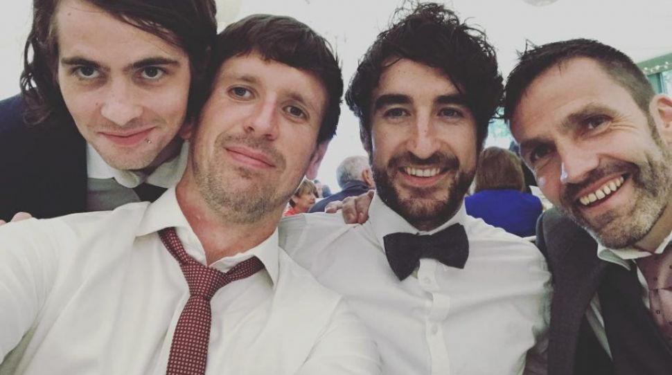 WATCH: Conor Egan from The Coronas wedding to wife Niamh