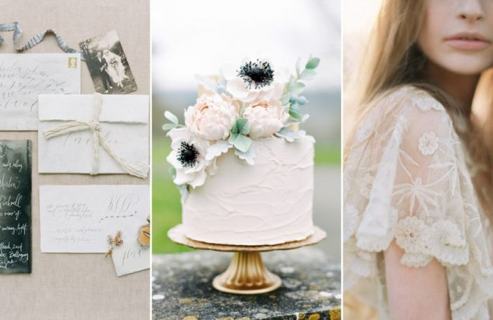 Natural wedding elements to bring the outdoors in