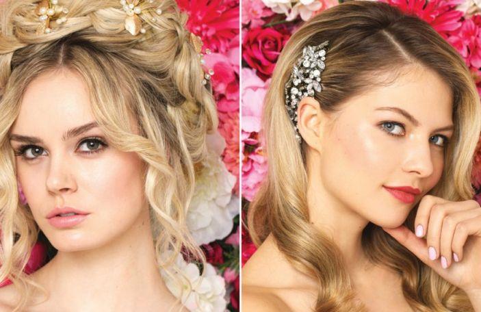 Bridal Beauty: Eight stunning wedding hair and makeup looks
