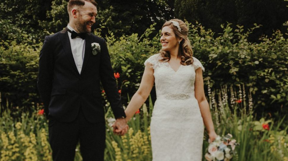 Kim and Barry's relaxed wedding at Martinstown House, Co Kildare