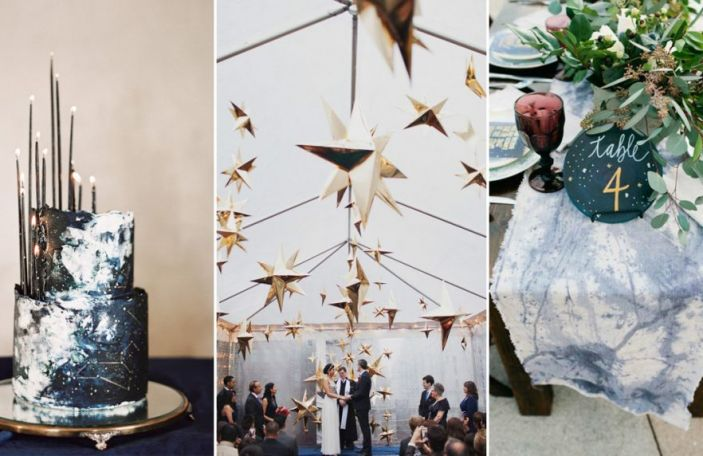 Celestial Wedding Décor That's Out of This World