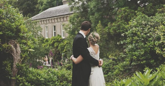 Cathy And Paddy's Chilled Out Wedding At Ballyvolane House