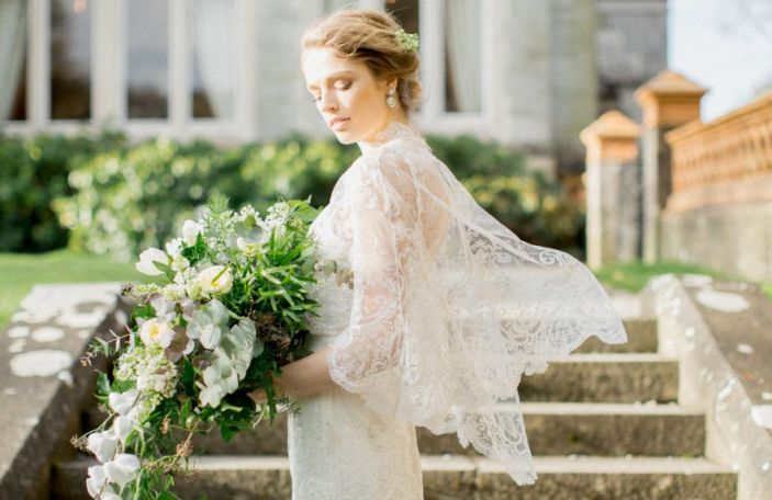 Dream dresses and elegant décor at Lough Rynn Castle