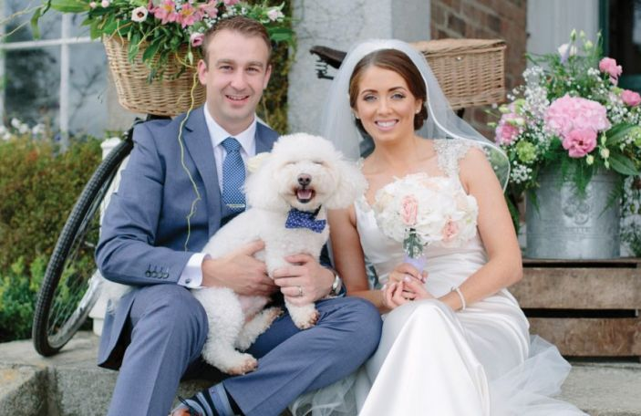 Niamh and Nigel's country house wedding at Horetown House, Co Wexford