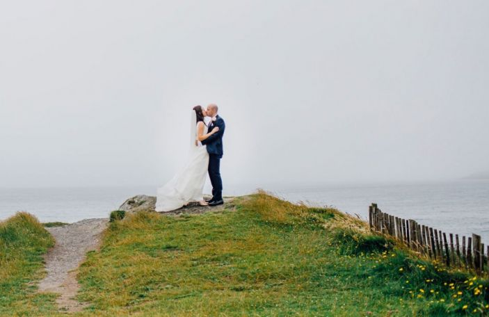 Marian and James' family-filled wedding at Inchydoney Island Lodge and Spa, Cork