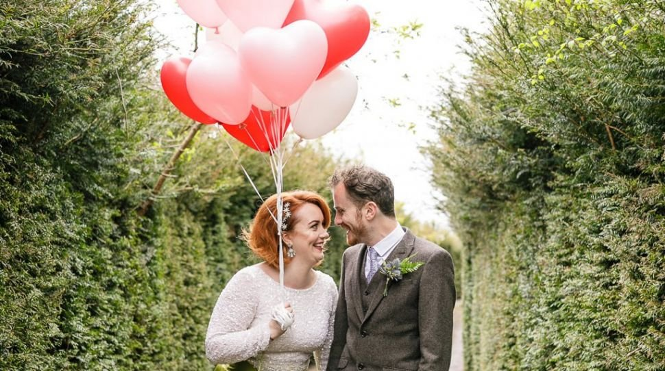 Heather and Doug's colourful wedding full of love at Mount Druid
