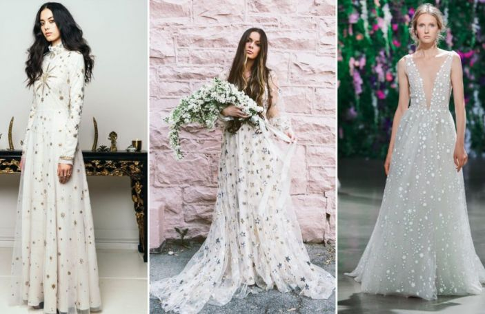 Wedding Trend Alert: Celestial Inspired Dresses