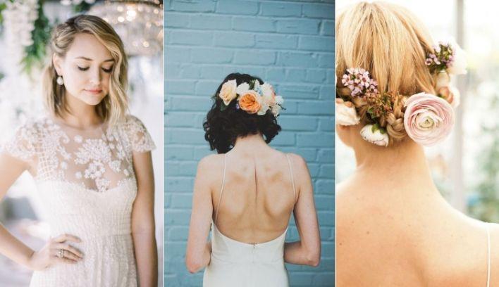9 short wedding hairstyles for brides with short hair confetti 9 of the best short wedding hairstyles junglespirit Gallery