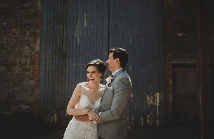 Maeve and Dan's stunning summer Millhouse wedding