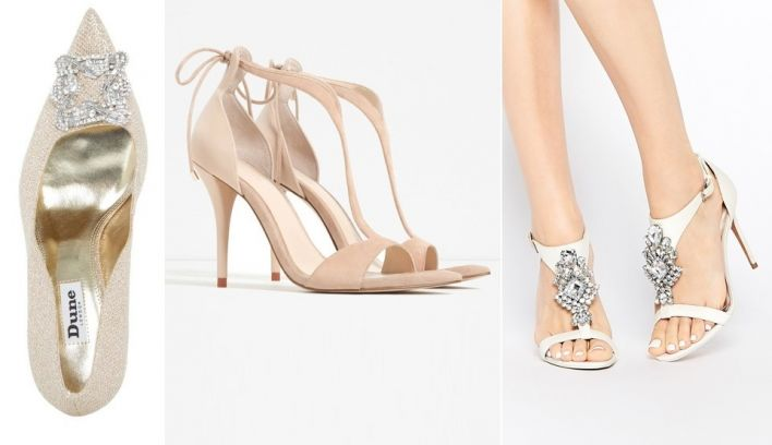 10 Affordable wedding shoes from the high street for brides on a budget