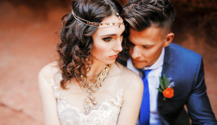 Moroccan-Mediterranean Wedding Inspiration