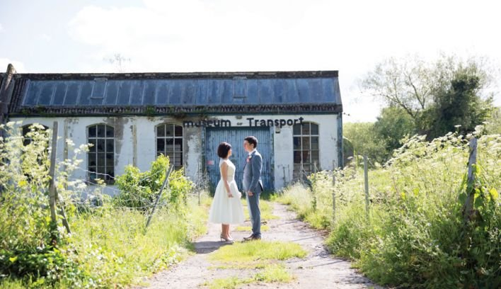 Aoife and Damien's Vintage Inspired Wedding At The Millhouse
