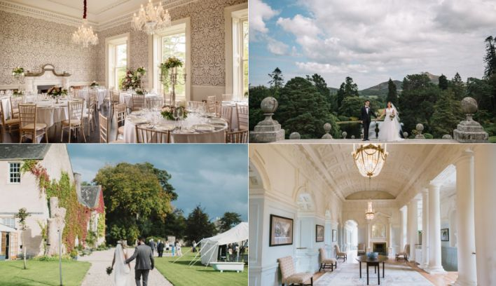 10 Amazing Country House Wedding Venues In Ireland