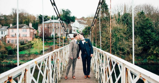 Nick And Kieran's Love-filled Real Wedding At The