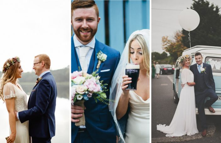 Top 10 most beautiful, inspiring real weddings you loved this year
