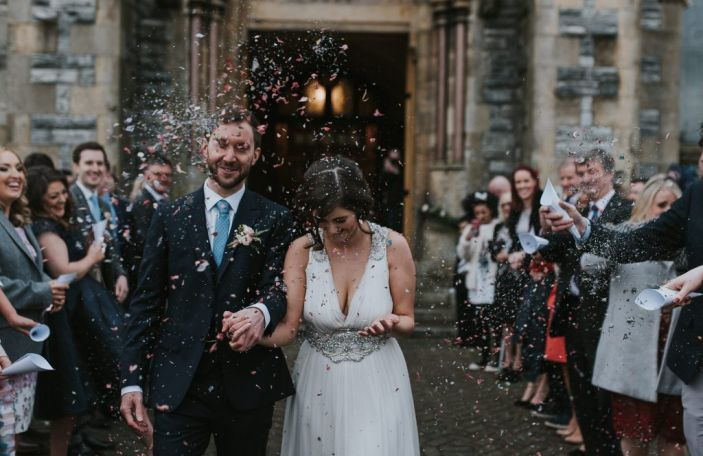 Rachael and Ben's gorge Donegal Wedding in Rathmullan House