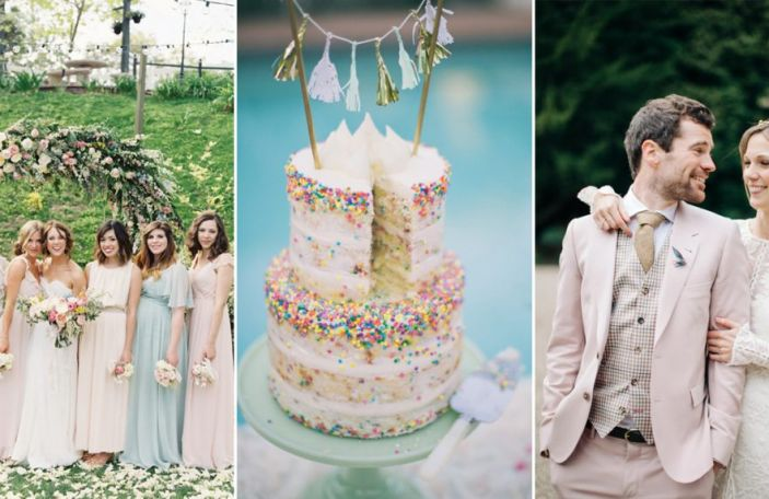 Pastel Wedding Details for Your Summer Celebration