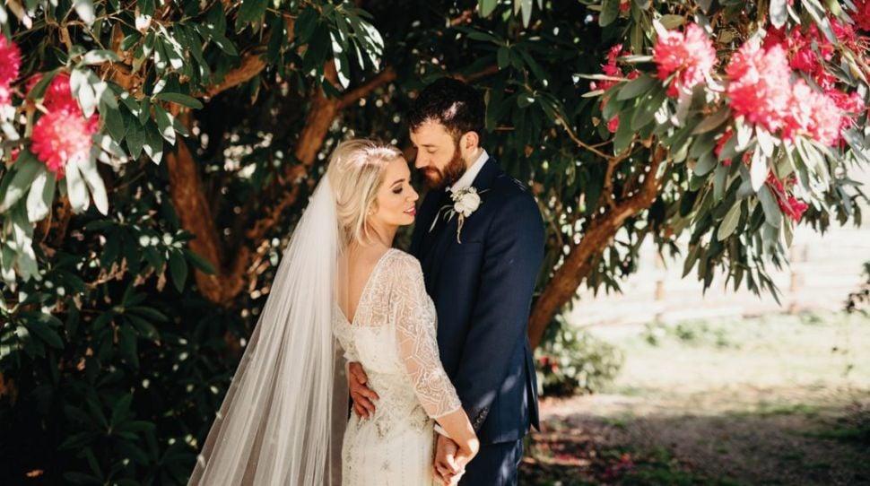 Lynsey and Senan's Stunning Horetown House Wedding