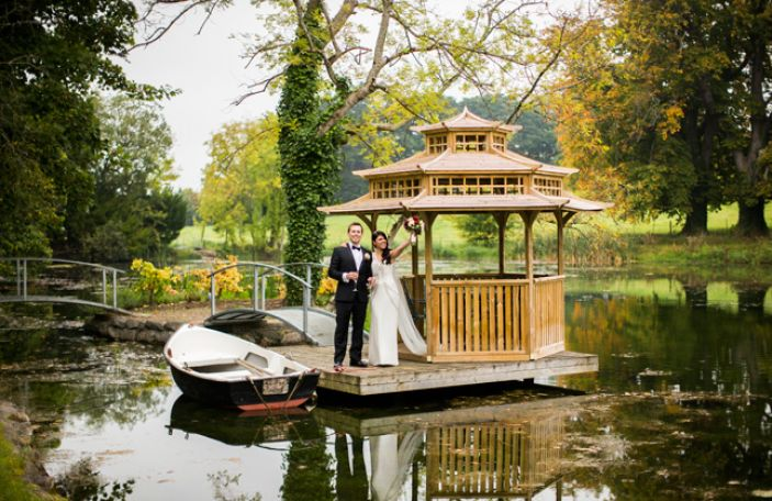 5 places to get great pictures if you're getting married at Kilshane House