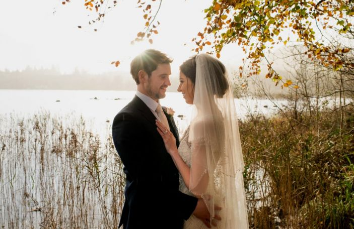 Emma And David S Gorgeous Wedding At Harvey Point Lough Eske