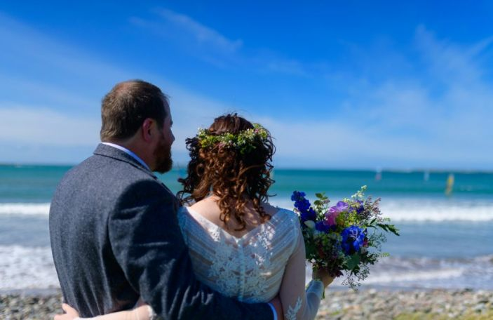 Treasa and Padraig's beautiful Dingle Skellig Hotel wedding in Co Kerry
