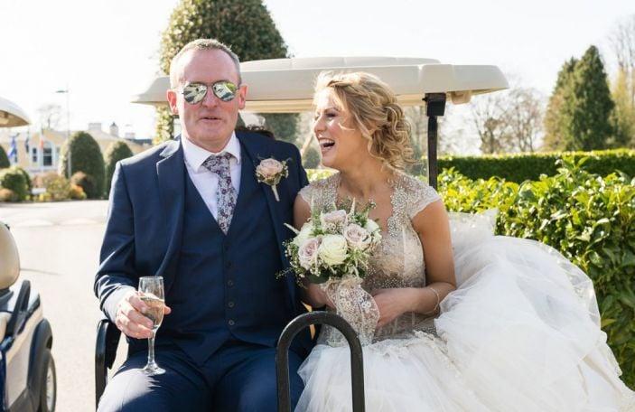 Caroline and John's gorgeous Mount Wolseley wedding