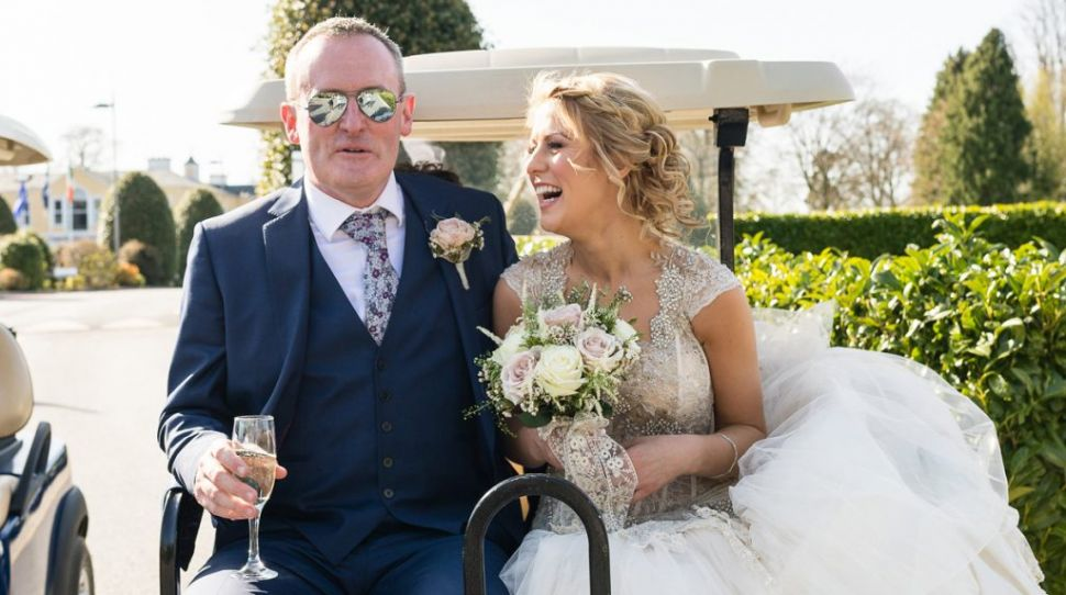 Caroline and John's gorgeous Mount Wolseley wedding