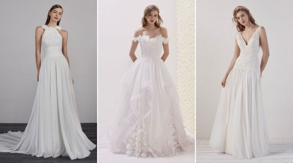 The new preview 2019 collections from Pronovias, and where to get them in Ireland