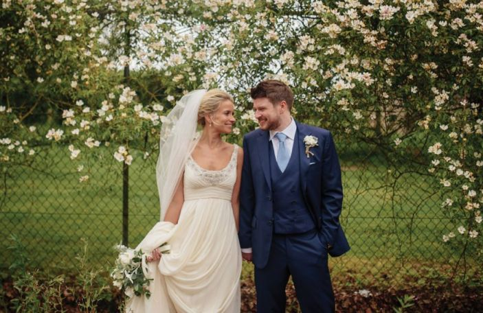 Jenny and Jonathan's dreamy Borris House Wedding