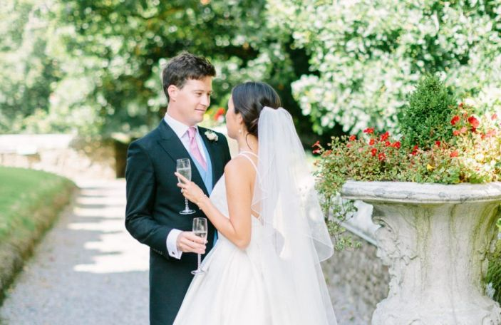 Jessica and Geoff's fairytale Waterford Castle wedding