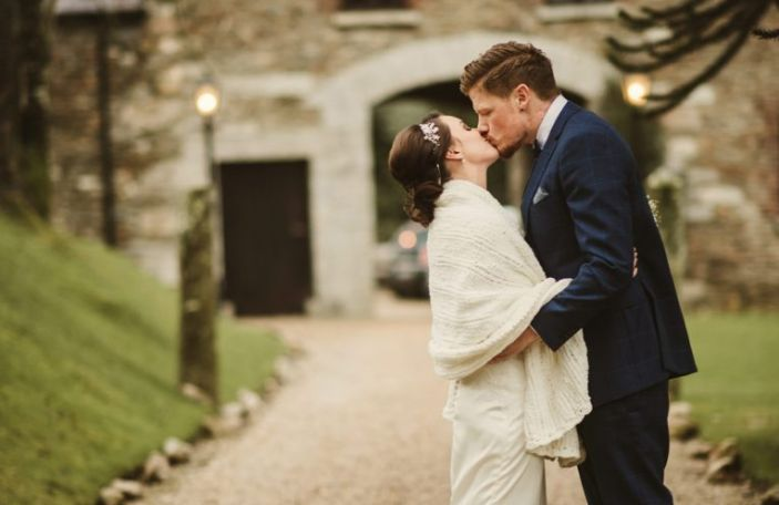 A cosy celebration at Ballybeg House for Sarah and Luke