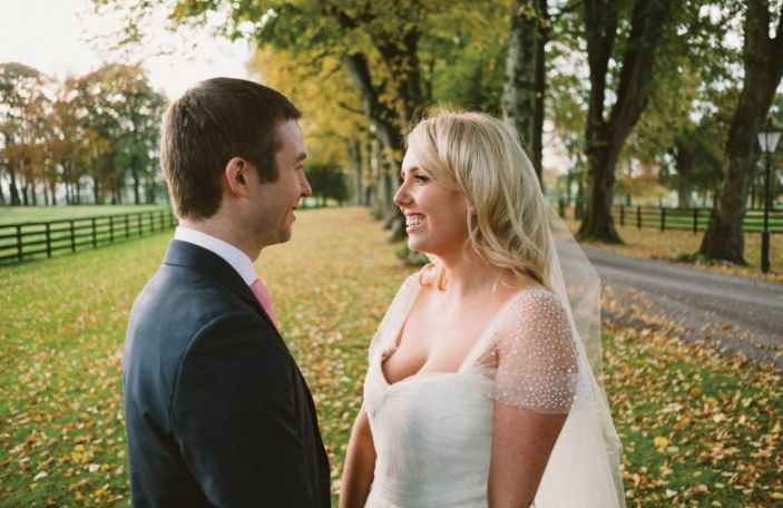 Alison and Killian's beautiful, sophisticated Tankardstown House wedding
