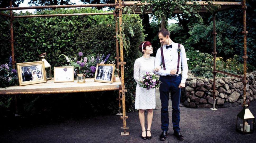 Alternative Wedding at Home for Jennifer and Hinrich