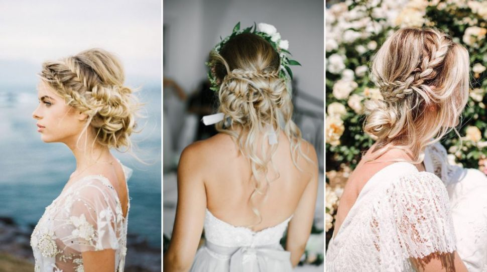 Undone Wedding Hair For a More Textured Bridal Look