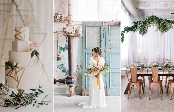 Urban-Inspired Wedding Décor for Modern Couples