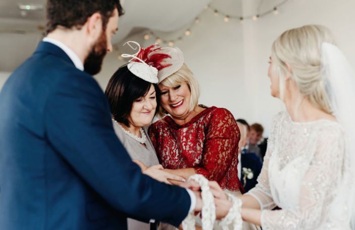 7 of the most common unity rituals in humanist wedding ceremonies
