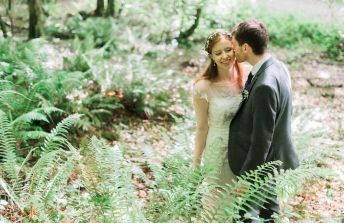 Julia and Ronan's rustically styled day at Kinnitty Castle, Co. Offaly