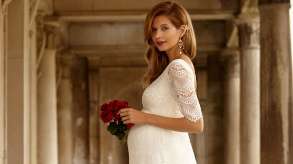 One Hot Mama - Top Tips for Maternity Bridal Wear Shopping
