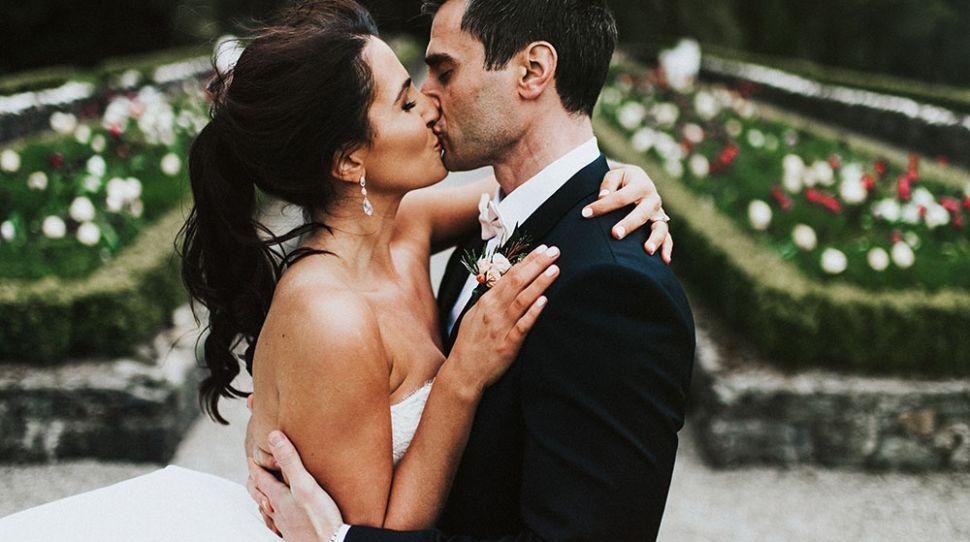 Nikki and Chris's beautiful foodie wedding at Virginia Park Lodge