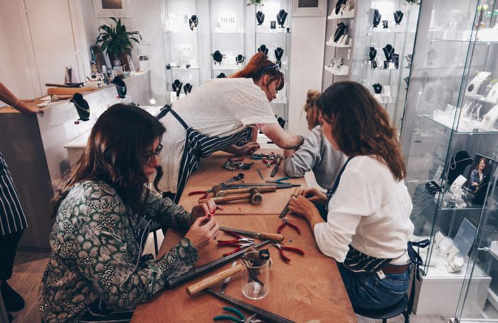 Alternative hen party activity alert: ring making class