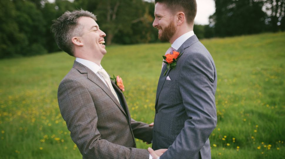 Andrew and Aidan's Beautiful Annebrook House Hotel Wedding