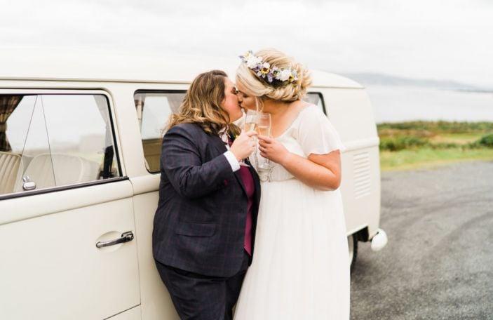 Stephanie and Samantha's beautiful Drumhalla House wedding