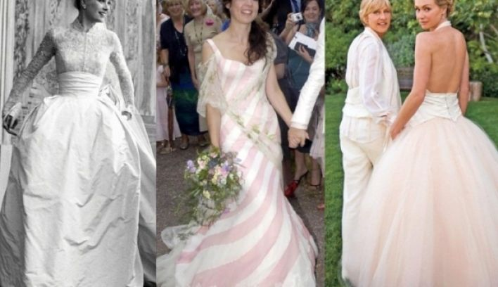 Top 20 celebrity wedding dresses of all time confetti top 20 celebrity wedding dresses of all time junglespirit Gallery