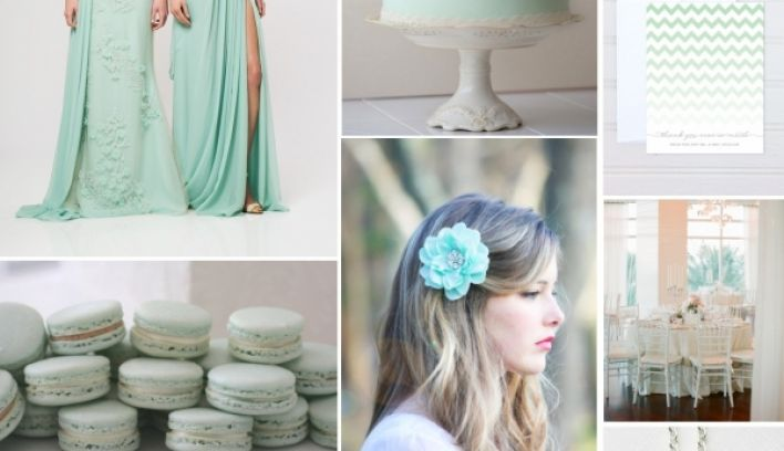 Wedding trends: Cool mint is hot for 2013