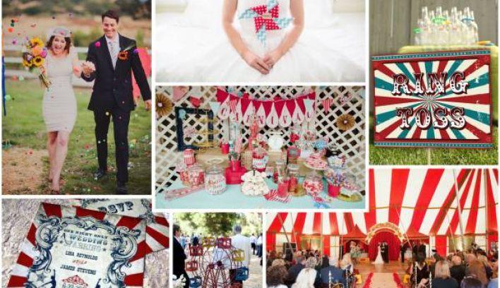 Ten Vintage Circus Themed Wedding Ideas