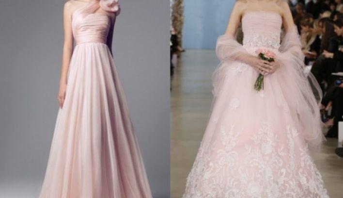 Top ten blush wedding dresses 2014s biggest bridal trend top ten blush wedding dresses 2014s biggest bridal trend junglespirit Image collections
