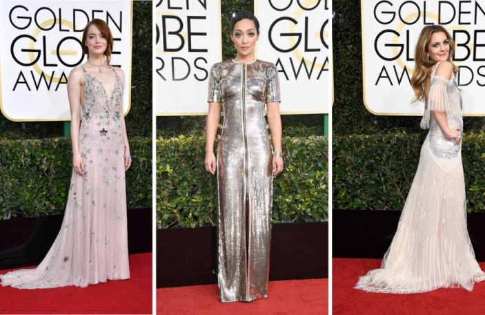 13 wedding worthy gowns from this year's Golden Globes