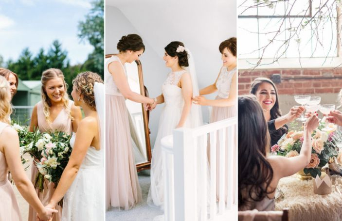 11 signs you have the best bridesmaids, EVER!