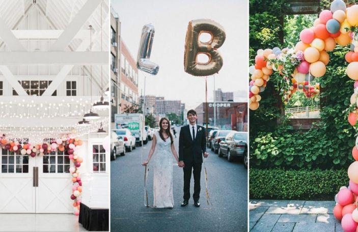 10 awesome and fun wedding balloon ideas