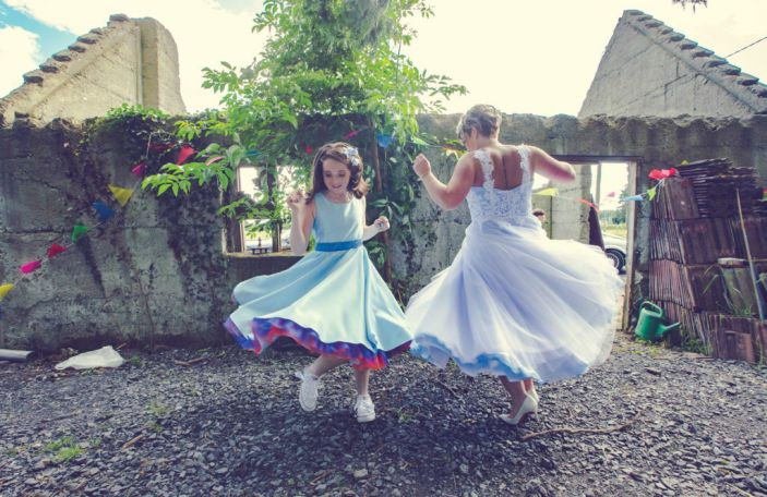 Caroline and Paul's romantic, marquee wedding in Delvin, Co Westmeath